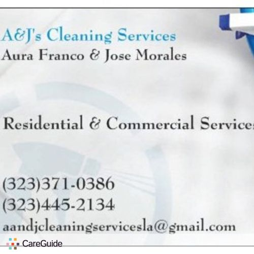 Housekeeper Provider Jose Morales's Profile Picture