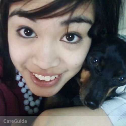 Pet Care Provider Krizia Elora Francisco's Profile Picture