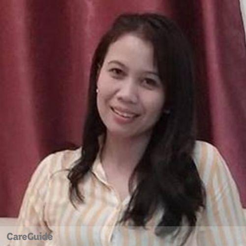 Canadian Nanny Provider Marites Manilla's Profile Picture