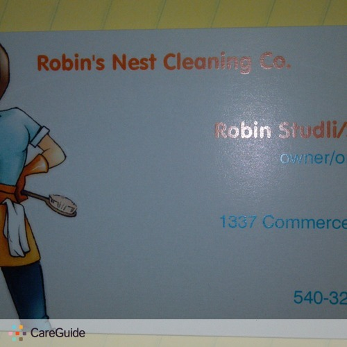 Robin's Nest Cleaning Company we worry about the mess so you can rest!
