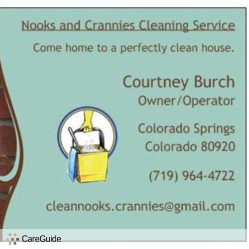 Housekeeper Provider Courtney Burch's Profile Picture