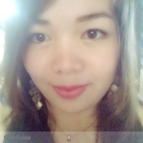 Canadian Nanny Provider Ma. Christine Garcia's Profile Picture