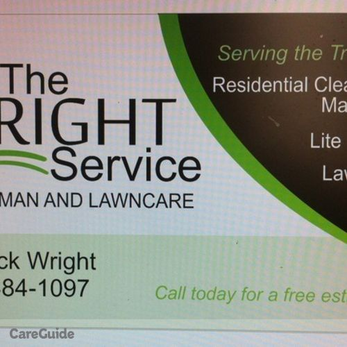 Handyman Provider Kedrick Wright's Profile Picture