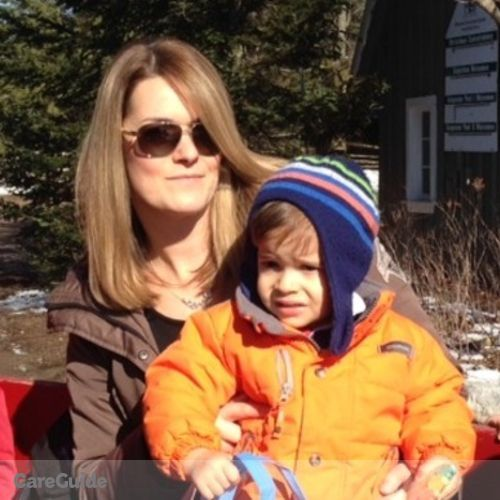 Canadian Nanny Job Mandy Pattenden's Profile Picture