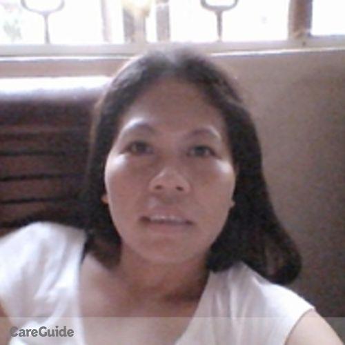Canadian Nanny Provider Ria Manabat's Profile Picture