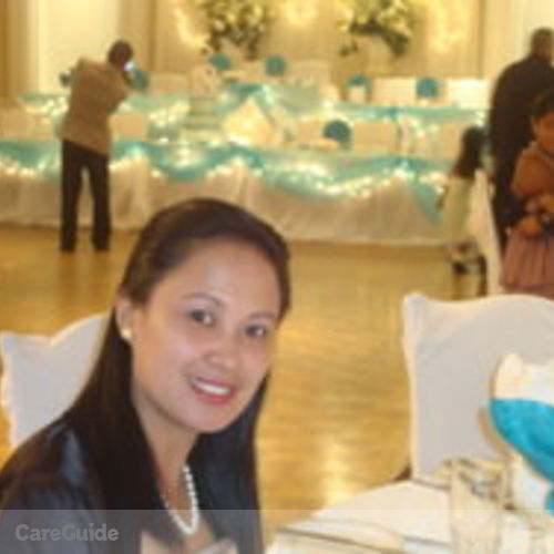 Canadian Nanny Provider Glendalee Quezon's Profile Picture