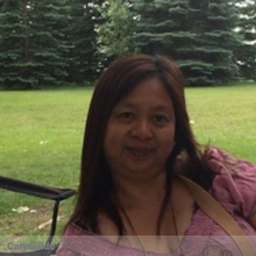 Canadian Nanny Provider Arlene B's Profile Picture