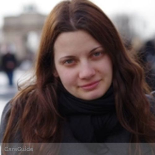Canadian Nanny Provider Amelie Laurent's Profile Picture