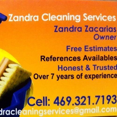 Housekeeper Provider Zandra Zacarias's Profile Picture