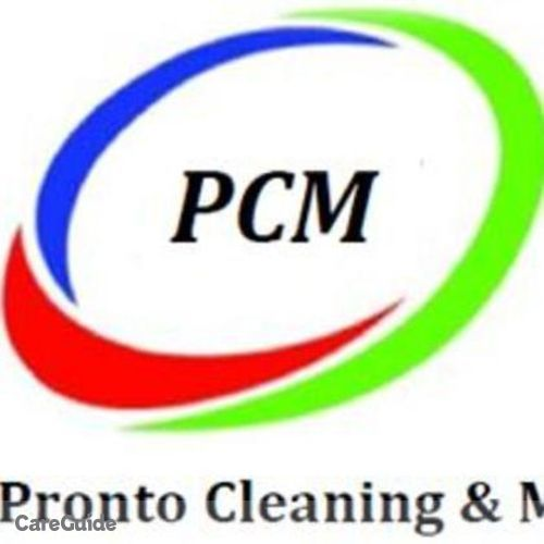 Housekeeper Provider Pronto Cleaning and Maintenance's Profile Picture