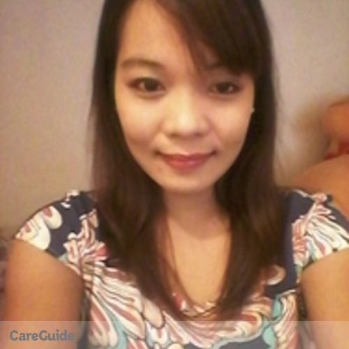 Canadian Nanny Provider Soniamarie Libnao's Profile Picture