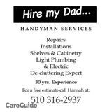 Hire my Dad...