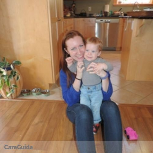 Canadian Nanny Provider Meaghan Johnston's Profile Picture