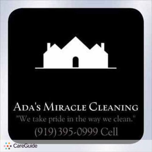 Housekeeper Provider Ada M's Profile Picture