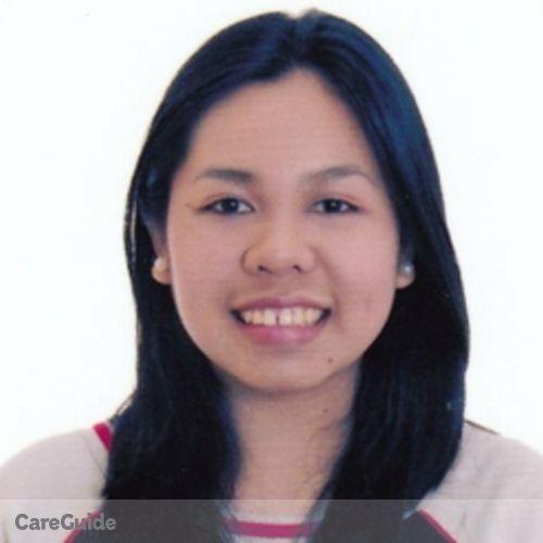 Canadian Nanny Provider Darzen Puguon's Profile Picture