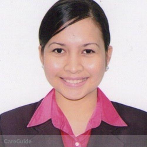 Canadian Nanny Provider Rizalyne G's Profile Picture