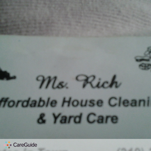 Housekeeper Provider Diedra Rich's Profile Picture