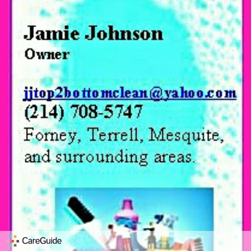 Housekeeper Provider Jamie Johnson's Profile Picture