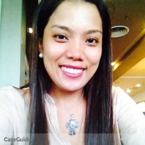 Canadian Nanny Provider Marissa Delos Reyes's Profile Picture