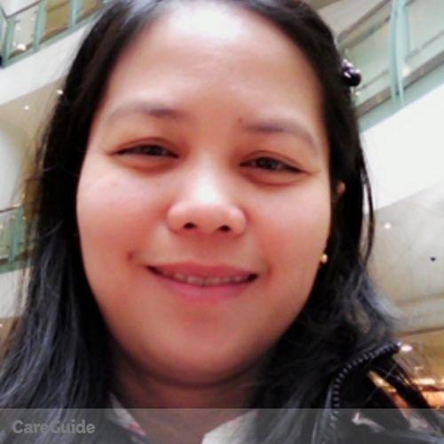 Canadian Nanny Provider Adelina Amac's Profile Picture