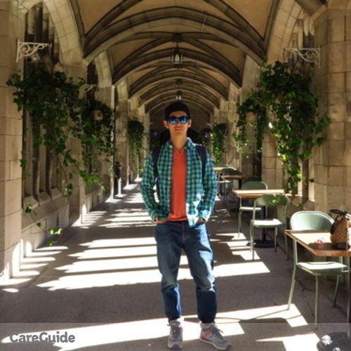 Canadian Nanny Provider Daniel Yan's Profile Picture