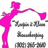 I enjoy KEEPIN It Kleen for my customers . I'm on facebook
