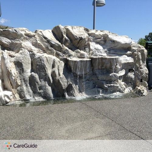 Landscape Design Surrey: Complete Backyard Renovations. Custom Pool Waterfalls