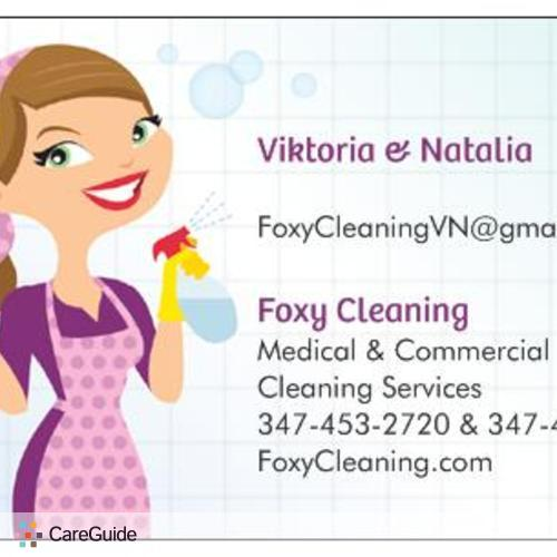 Housekeeper Provider Foxy Cleaning's Profile Picture