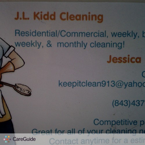 Housekeeper Provider Jessica Kidd's Profile Picture