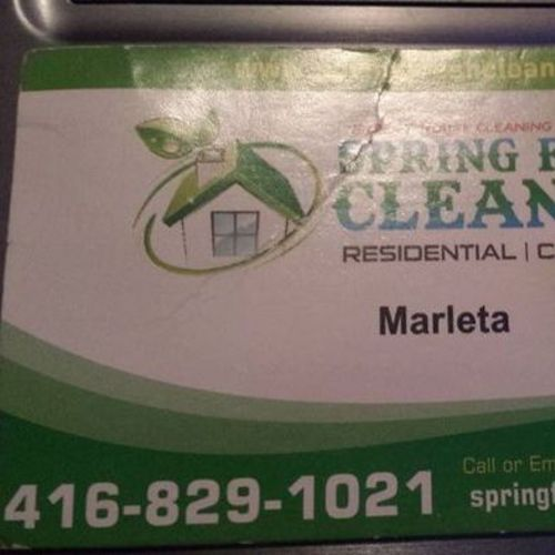Housekeeper Provider Spring fresh cleaners M's Profile Picture