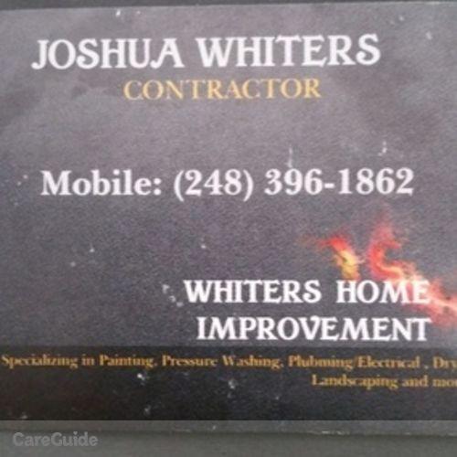 Painter Provider Joshua Whiters's Profile Picture