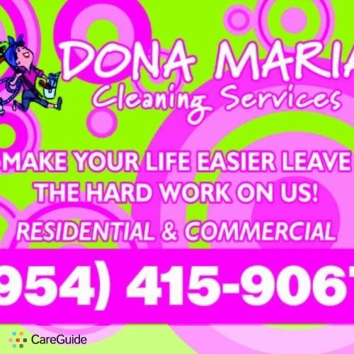 Housekeeper Provider Dona Maria's Profile Picture