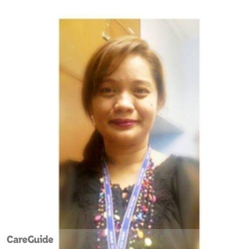 Canadian Nanny Provider Rhica Escobilla's Profile Picture