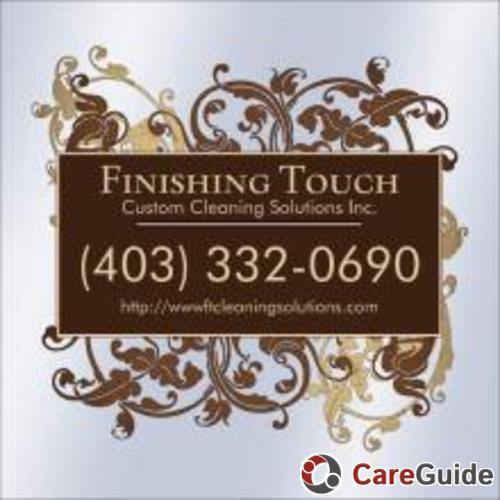 Finishing Touch Custom Cleaning Solutions Inc.