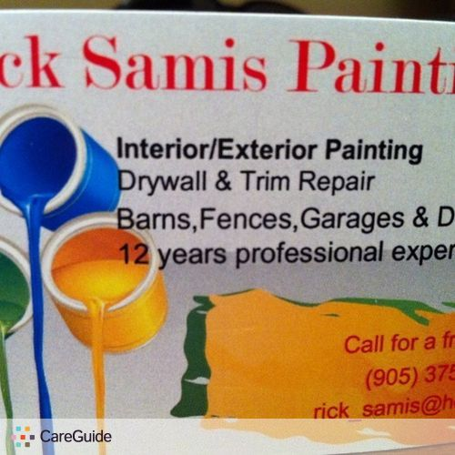 Painter Provider Rick Samis's Profile Picture