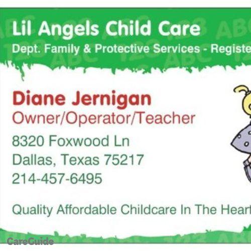 Child Care Provider Diane J's Profile Picture