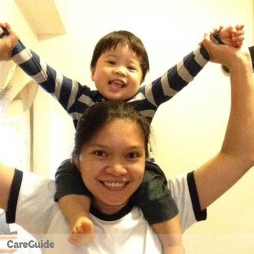 Canadian Nanny Provider Ratchie Bringas's Profile Picture