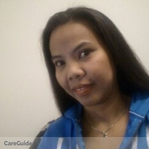 Canadian Nanny Provider Luisa Narag's Profile Picture