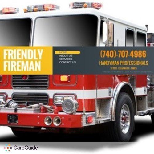 Handyman Provider Friendly Fireman's Profile Picture