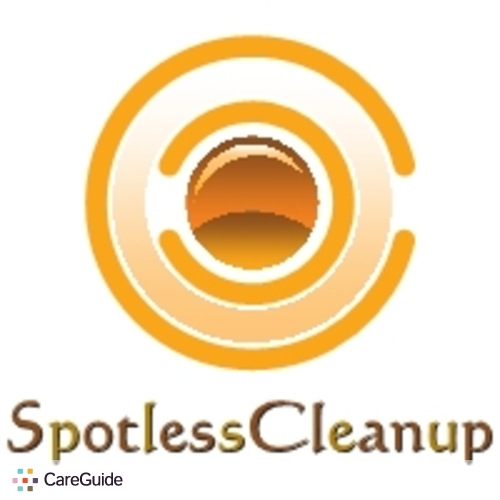 Housekeeper Provider Spotless Cleanup's Profile Picture