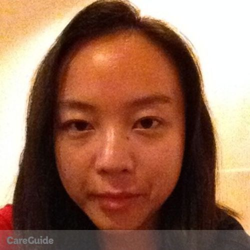 Canadian Nanny Provider Jia Wang's Profile Picture