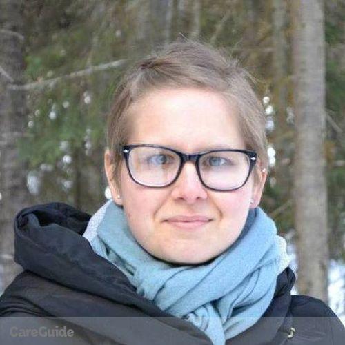 Canadian Nanny Provider Aurelija Tarvydas's Profile Picture