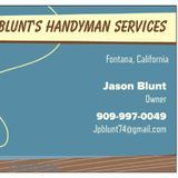 BLUNT'S HANDYMAN'S SERVICE all u Ned to do is pick up the phone and call me and ill do the rest