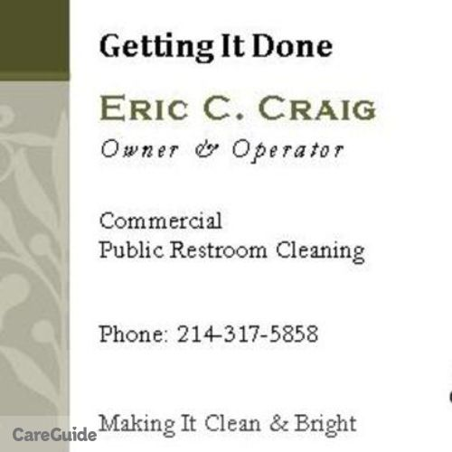 Housekeeper Provider Eric C. Craig Sr's Profile Picture