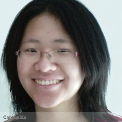 Canadian Nanny Provider Linda Peng's Profile Picture