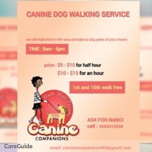 Pet Care Provider Nanci Lujano's Profile Picture