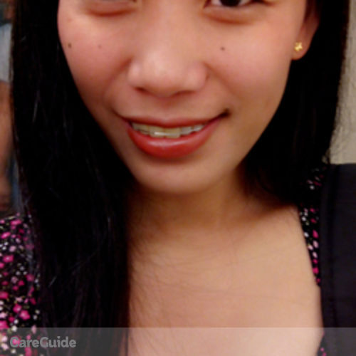 Canadian Nanny Provider Glaiza Salaguban's Profile Picture