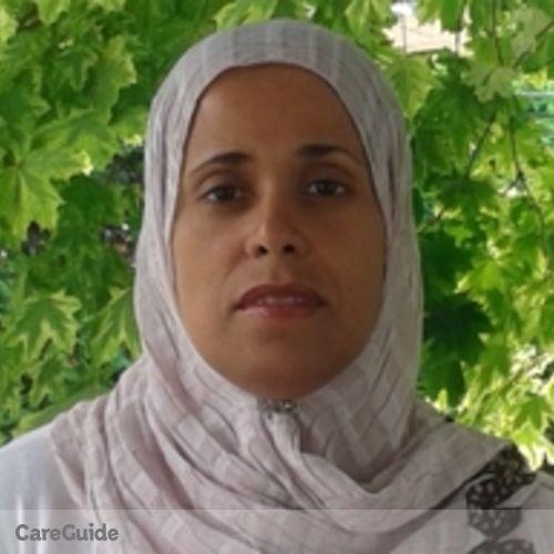 Canadian Nanny Provider Karima Souici's Profile Picture