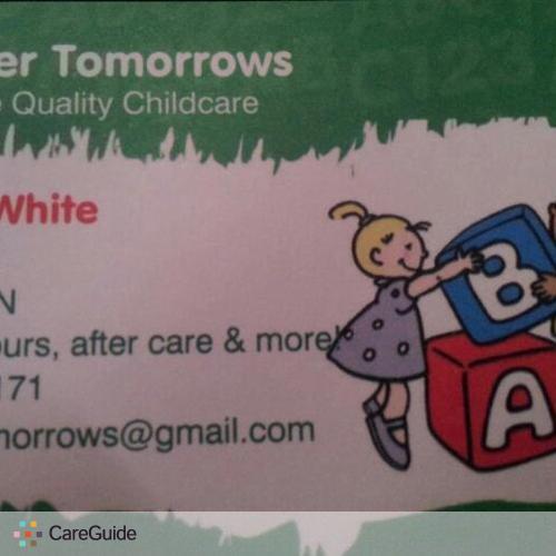 Child Care Provider Ieshea W's Profile Picture