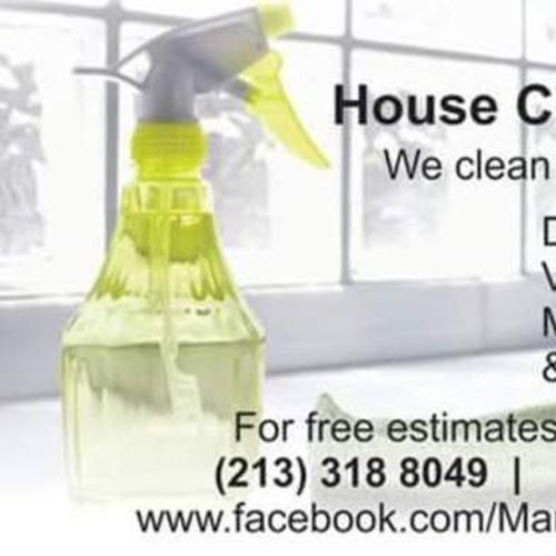 Housekeeper Provider M&M House Cleaning S's Profile Picture